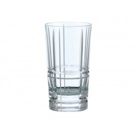 Christofle Vaso Highball Transparente Scottish - Envío Gratuito