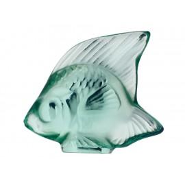 Lalique Escultura Pez Menta - Envío Gratuito