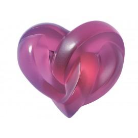 Lalique Paperweight Hearts Rojo - Envío Gratuito