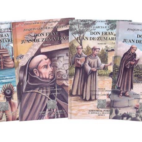 Don Fray Juan de Zumárraga 1-4 - Envío Gratuito