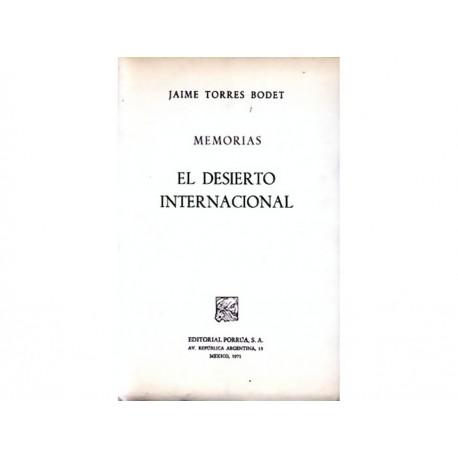 Memorias El Desierto Internacional - Envío Gratuito