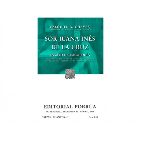 Sor Juana Inés de la Cruz Ensayo de Psicología - Envío Gratuito