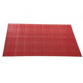 Haus Mantel Rectangular Zaira Individual Rojo - Envío Gratuito