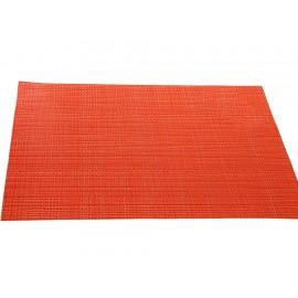 Haus Mantel Rectangular Zaira Individual Naranja - Envío Gratuito