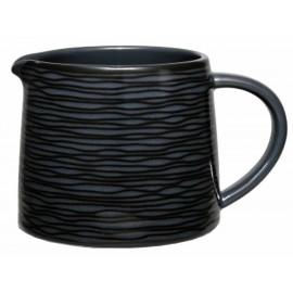 Noritake Cremera Swilr Negro 350 ml Negro - Envío Gratuito