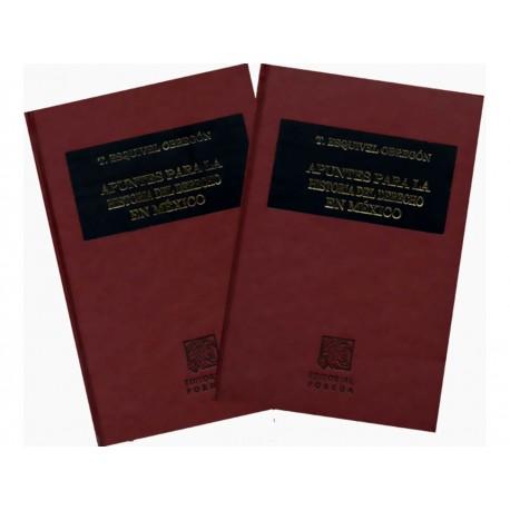 Apuntes para la Historia del Derecho en México 1-2 - Envío Gratuito