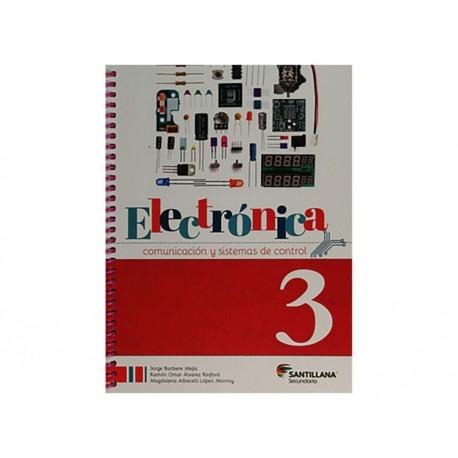 Electrónica, Comunicación y Sistemas de Control 3 Secundaria con CD - Envío Gratuito