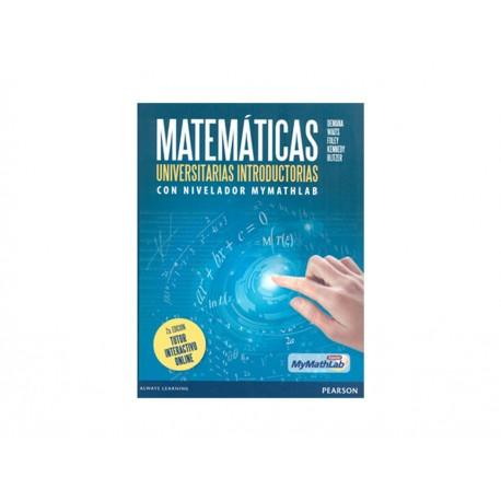 Matemáticas Universitarias Introductorias con Nivelador Mymathlab Tutor Interactivo Online - Envío Gratuito
