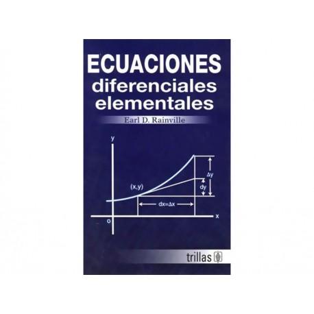 Ecuaciones Diferenciales Elementales - Envío Gratuito