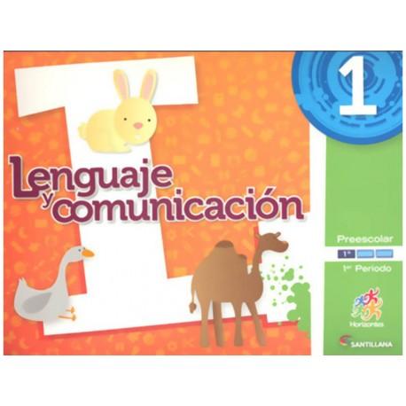 Lenguaje y Comunicación 1 1er Periodo Preescolar con CD - Envío Gratuito
