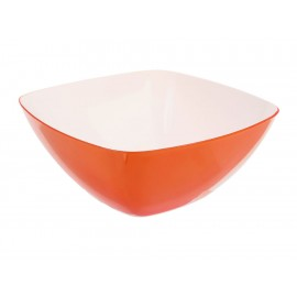 Haus Bowl para Ensalada Naranja 27-FL063-08 - Envío Gratuito