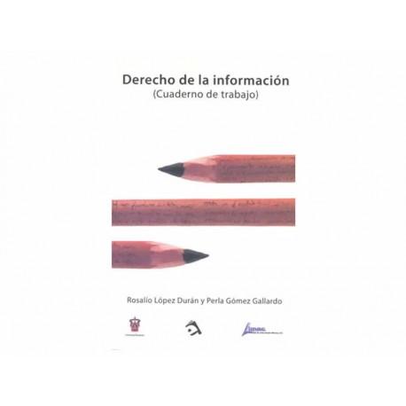 Derecho de la Información Cuaderno de Trabajo - Envío Gratuito