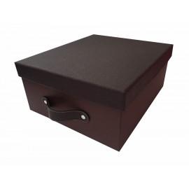 Duartee Caja Cochino 002 Cuadrada Chocolate - Envío Gratuito