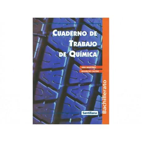 Cuaderno de Trabajo de Química Bachillerato - Envío Gratuito