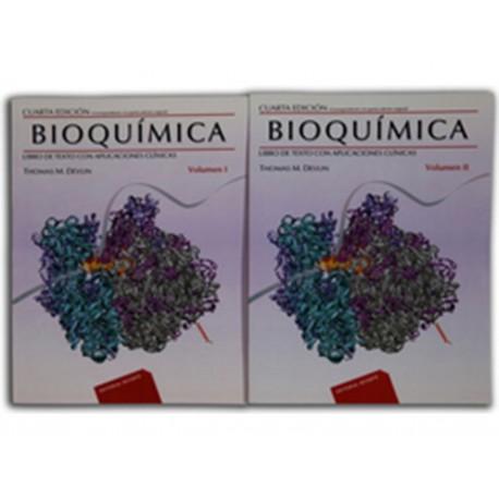 Bioquímica Libro de Texto con Aplicaciónes Clínicas Volumen 1 - Envío Gratuito