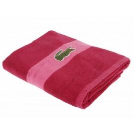 Lacoste Toalla de Baño Rosa - Envío Gratuito