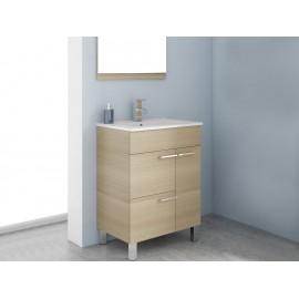 Bannio Mueble de Baño Elita Roble Americano 60 cm - Envío Gratuito