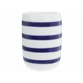 Haus Vaso Stripes Azul - Envío Gratuito