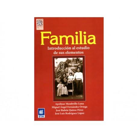 Familia Introducción al Estudio de Sus Elementos - Envío Gratuito