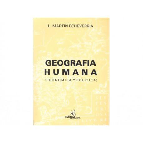 Geografía Humana Económica y Política - Envío Gratuito
