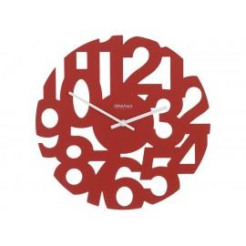 Decoregalo Reloj de Pared Trendy Rojo W492 RED - Envío Gratuito