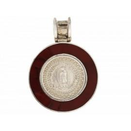 Ballesteros Medalla Redonda con la Virgen de Guadalupe - Envío Gratuito