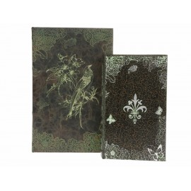 Haus Deko Set de 2 Cajas Negras - Envío Gratuito