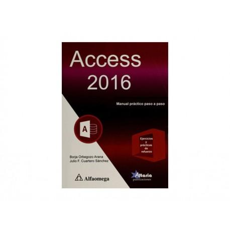 Access 2016 Manual Práctico Paso a Paso - Envío Gratuito