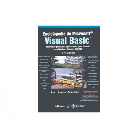 Enciclopedia de Microsoft Visual Basic Interfaces Gráficas y Aplicaciónes para Internet con Windows Forms y Asp Net - Envío Grat