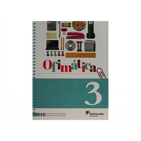 Ofimatica 3 Secundaria con CD - Envío Gratuito