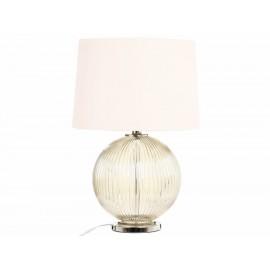 Perla Lámpara de Mesa Clásica Humo - Envío Gratuito