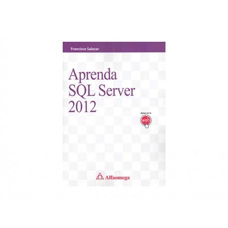 Aprenda Sql Server 2012 - Envío Gratuito