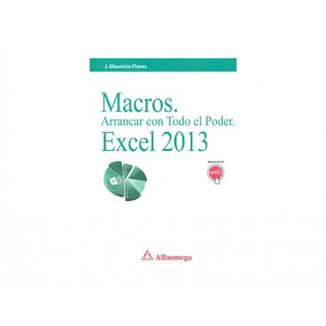 Macros Arrancar con Todo El Poder Excel 2013 - Envío Gratuito