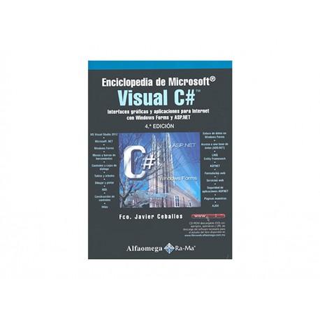 ENCICLOPEDIA DE MICROSOFT VISUAL C - Envío Gratuito