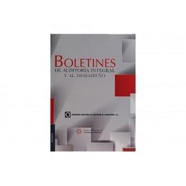 Boletines de Auditoría Integral y al Desempeño - Envío Gratuito