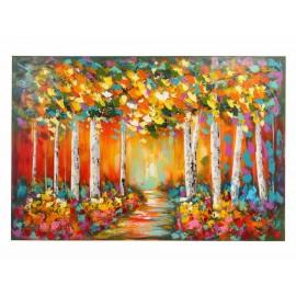 Orange Forest Pintura Clásica - Envío Gratuito