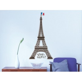 Torre Eiffel Vinilo Decorativo - Envío Gratuito