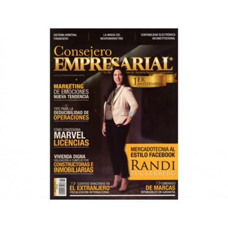 Consejero Empresarial Núm 10 Año 2 Marzo 2015 - Envío Gratuito