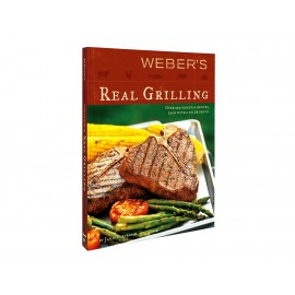 Weber Recetario Real Grilling - Envío Gratuito