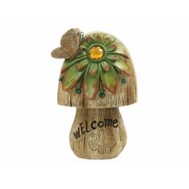Hong Fa Figura Decorativa Hongo Yilinki Welcome - Envío Gratuito