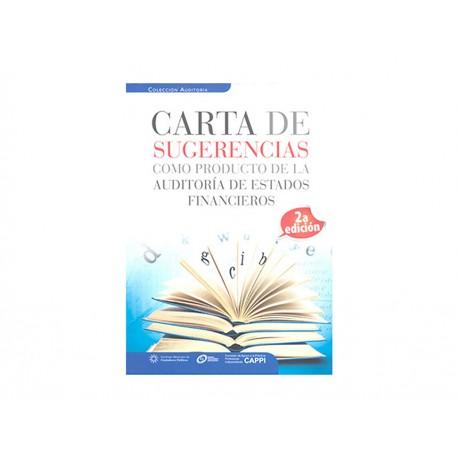 CARTA DE SUGERENCIAS COMO PRODUCTO - Envío Gratuito