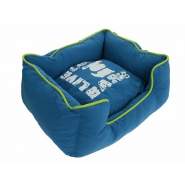 Zoopet Cama Bark mediana azul para perro - Envío Gratuito