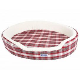 Cama lavable escocés, doble vista, templada en verano, y caliente en invierno, muy resistente - Envío Gratuito