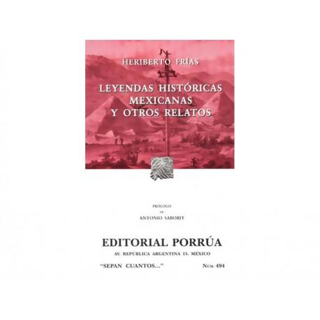 Leyendas Históricas Mexicanas y Otros Relatos - Envío Gratuito