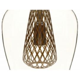 Alba Lámpara Colgante Trendy Transparente - Envío Gratuito