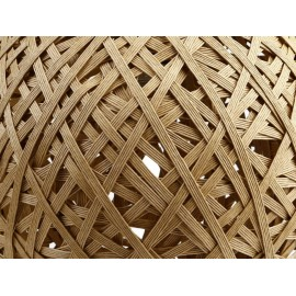 Nest Lámpara Colgante Circular Trendy Natural - Envío Gratuito