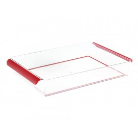 Madesmart Organizador de Refrigerador Rojo - Envío Gratuito