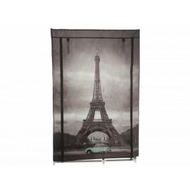 Trentto Armario Torre Eiffel Gris - Envío Gratuito