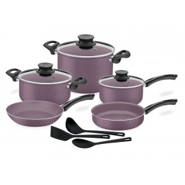 Batería de Cocina Tramontina París 11 piezas lila - Envío Gratuito