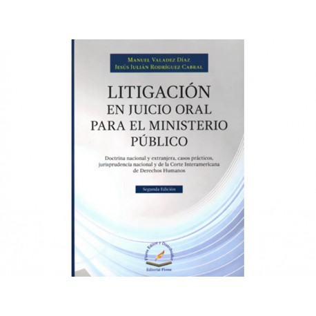 Litigación en Juicio Oral para el Ministerio Publico - Envío Gratuito